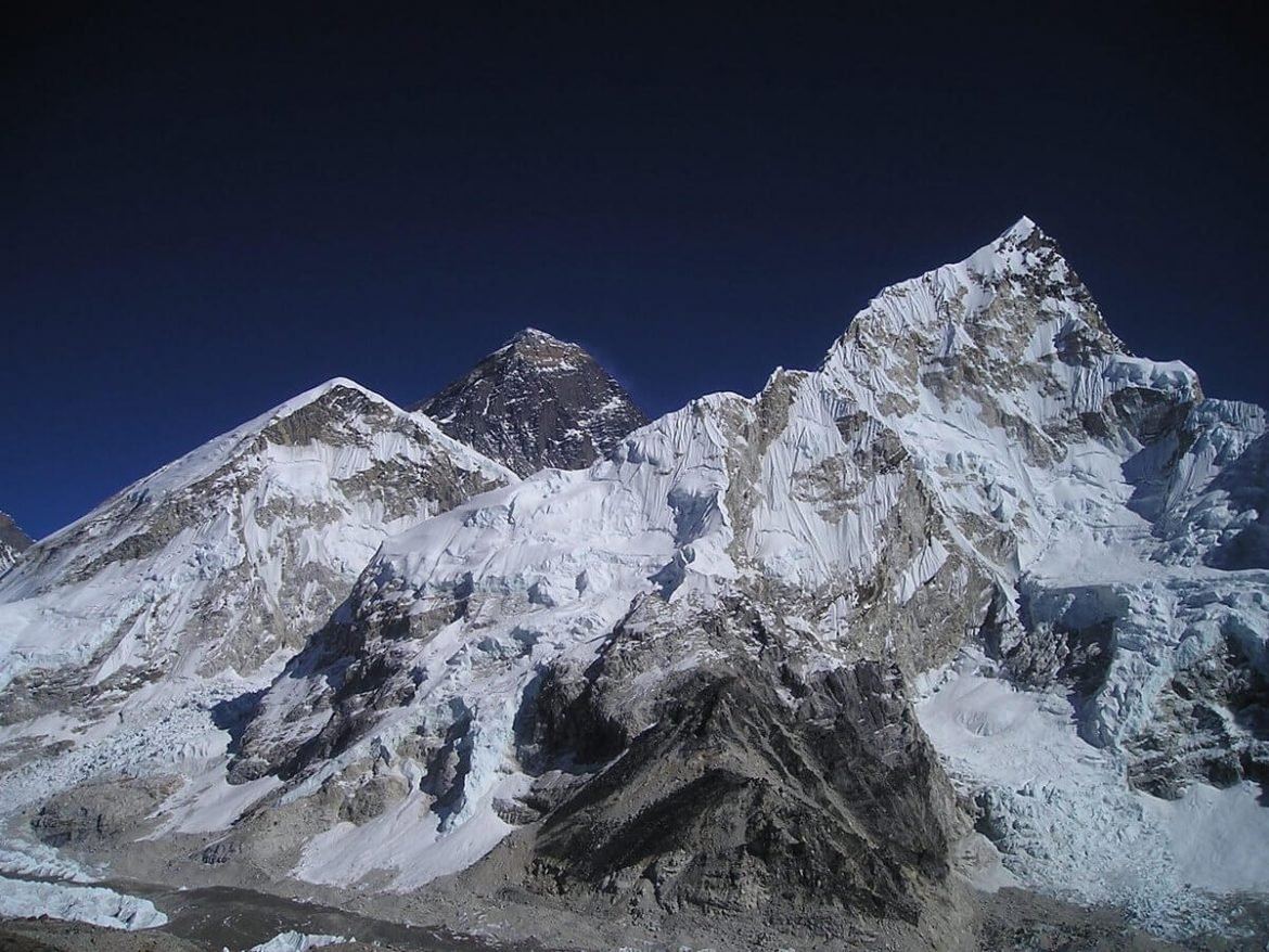 Everest – Highest Peak in the world.