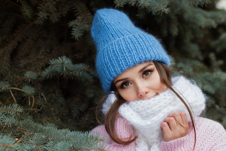 Her pretty face in Winter