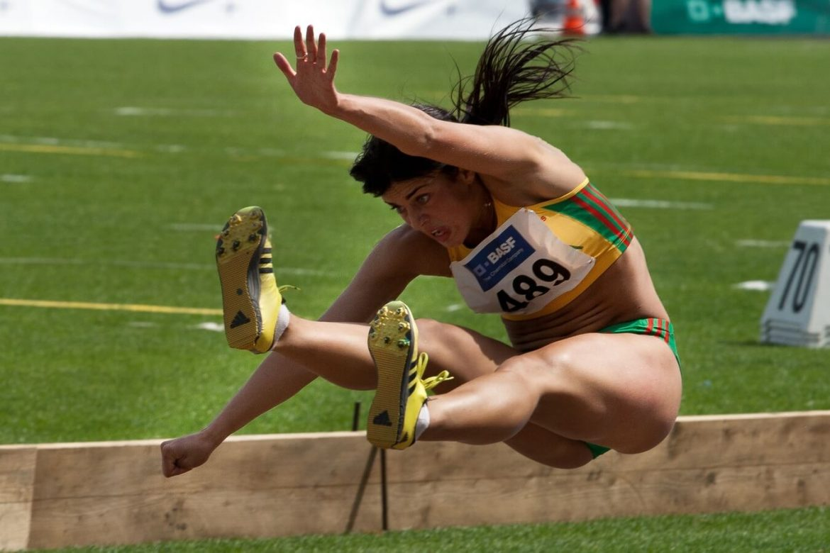 High jump – She is the national winner.